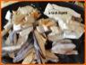 Tarte cremeuse aux champignons des bois vosgiens