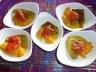 Tomates confites et poivrons grillés
