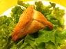 Feuilleté au saumon et fromage de chèvre
