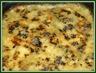 Gratin de pommes de terre et courgettes a la fourme d'ambert