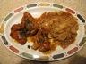 Hautcuisses de poulet, sauce aux arachides (mijoteuse)