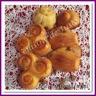 Mini cakes chèvre / figue / miel