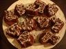 Petits gâteaux au chocolat et fève tonka ou orange et épices pour pain d'épices