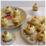 Petits muffins coeur gourmand à la crème de caramel au beurre salé