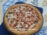 Pizza au poulet sauce barbecue