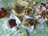 Pommes de terre au four farcies à la purée de fleur d'ail