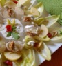 Salade d'endives aux pommes, noix et roquefort
