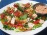 Salade de poulet et sa sauce vinaigrette mille-îles