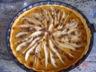 Tarte pommes poires chocolat