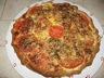 Tarte tomates lardons