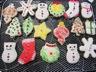 Biscuits sablés au beurre décorés pour Noël