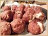 Boulettes de boeuf coeur de gouda fondant - sauce ananas à l'aigre-doux