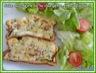 Cake chèvre-courgette-lardons