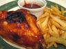 Cuisses de poulet à la sauce célèbre (poitrines de poulet)