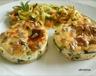 Flan courgette-chèvre-tomates séchées