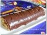 Gâteau roulé au Nutella® (glaçage au chocolat)