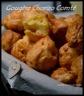 Gougeres chorizo et comté, piment d'espelette