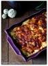 Gratin dauphinois pommes de terre - courgettes
