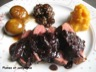 Magrets de canard aux figues et ses deux sauces