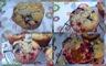 Muffins aux fruits rouges et aux pépites de chocolat blanc
