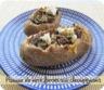 Pommes de terre farcies aux champignons de Paris