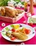 Poulet rôti Pleine Saveur et Sauté de légumes façon wok