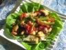Salade d'artichauts et de haricots blancs