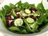 Salade d'épinards de canneberges et d'amandes grillées