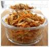 Salade de lentilles aux carottes et aux pommes