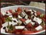 Salade de pastèque au chèvre frais