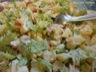 Salade de pommes de terre au saumon, sauce légère