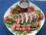 Salade de poulet grillé et de tomates, vinaigrette au parmesan