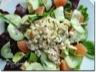 Salade de tourteau au pamplemousse et à l'avocat
