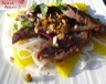 Salade de vermicelles de riz et boeuf à la citronnelle et au nuoc mam