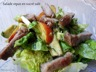 Salade repas en sucré salé