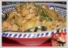 Tajine de poulet aux amandes et aux noix de cajou