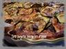 Tarte courgettes, tomates, féta et pignon