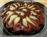 Tarte façon cake poires chocolat (C. Felder)