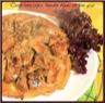 Tatin aux cèpes et boudin blanc au foie gras