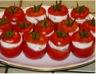 Tomates cerise au chèvre frais