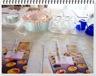 Un cake orange, fruits confits, rhum, raisins secs et bigarreaux confits