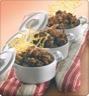 Plat principal: Boeuf gratiné en mini cocottes