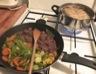 Bœuf mariné au soja et ses légumes