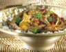 Boeuf mariné aux lardons et aux légumes