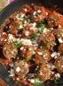 Boulettes d'agneau parfumées, sauce tomates & féta
