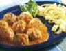 Plat principal: Boulettes sauce tomate au basilic
