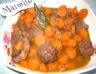 Braisé de boeuf aux carottes