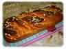 Brioche rose a la creme patissiere et compotee de pommes au caramel
