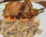 Cailles farcies au foie gras arrosées au jurançon