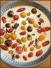 Clafoutis léger aux tomates cerises